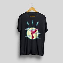 SP620PPP - Chaise fauteuil daw PATCHWORK en bois idéal pour la maison bar café salon et pub - giallo