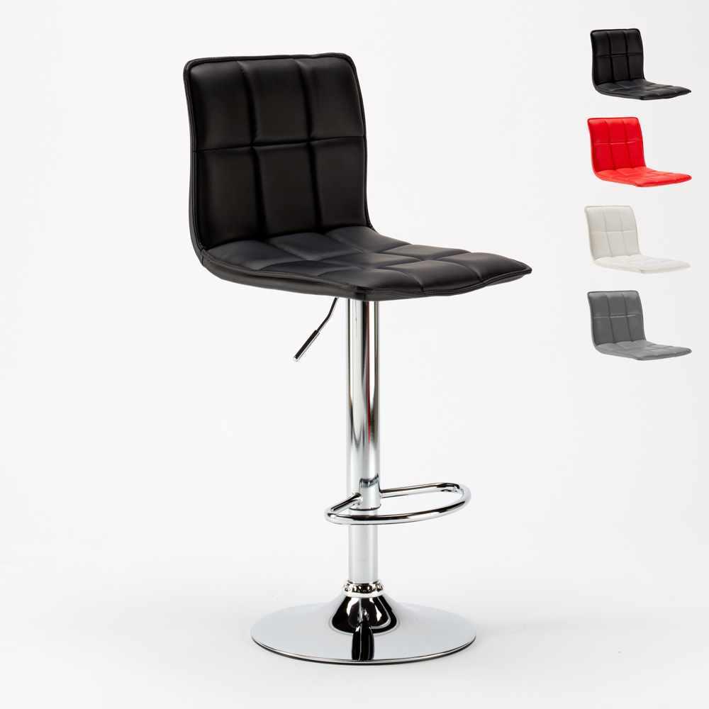 Tabouret Pour Salle A Manger Et Bar Similicuir Design Moderne Phoenix