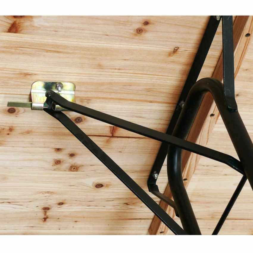 2 Jambes de substitution pour table pliable support rechange set brasserie - esterno