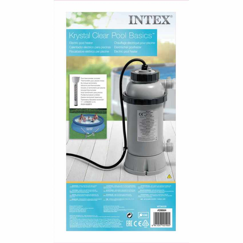 Intex 28684 Réchauffeur Piscine - foto