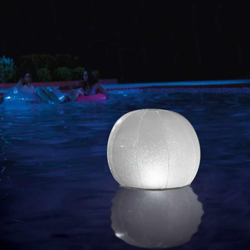 Boule Lumineuse Flottante LED  pour Piscine Intex 28693 - precio