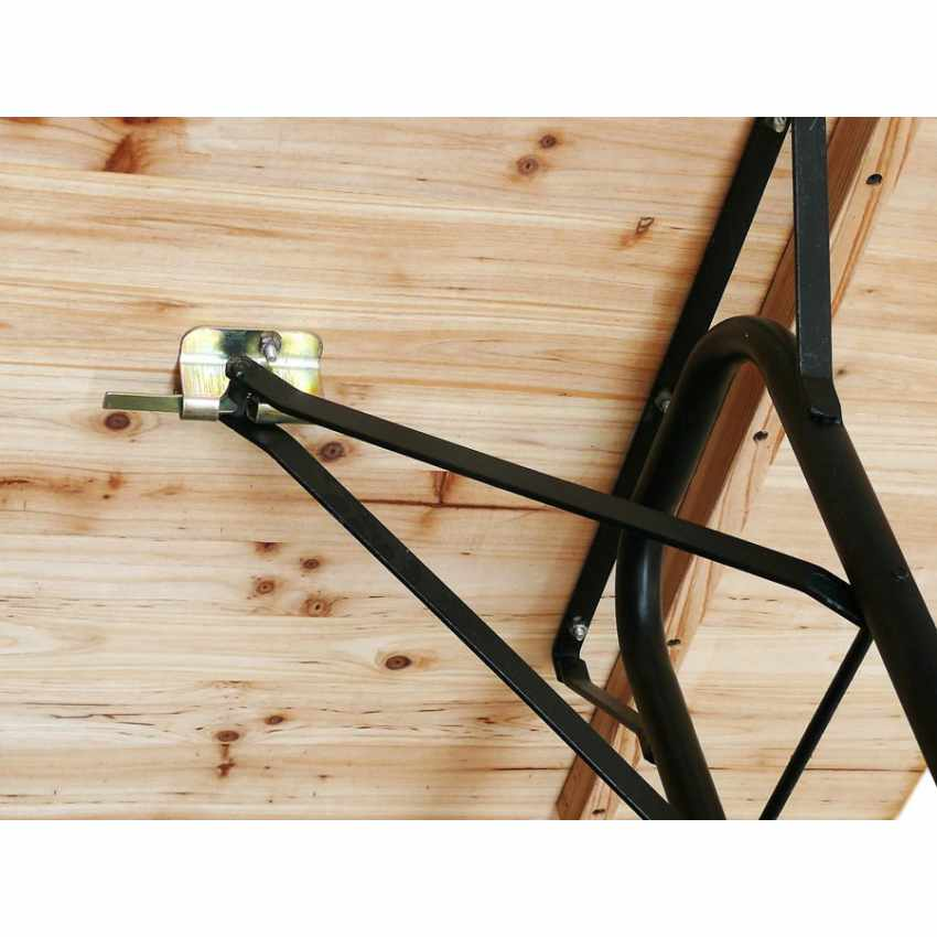 Table de brasserie pour fêtes lieux publics bancs en bois  220x80 - offerta