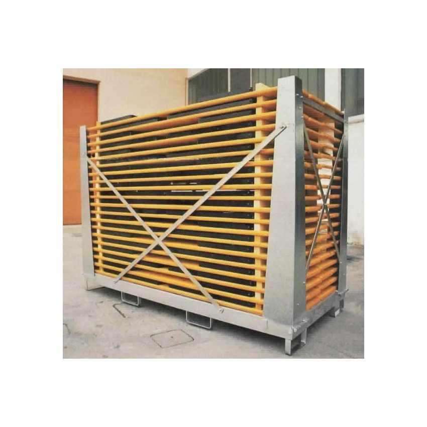 Boite de Stockage et chariots élévateur Boîte Cage Galvanisée Pour tables bancs CAGEBOX - arredamento