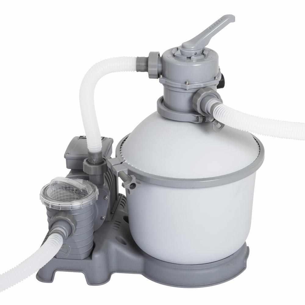 Pompe Filtrante A Sable De La Marque Bestway 58400 Pour Piscines Hors Sol