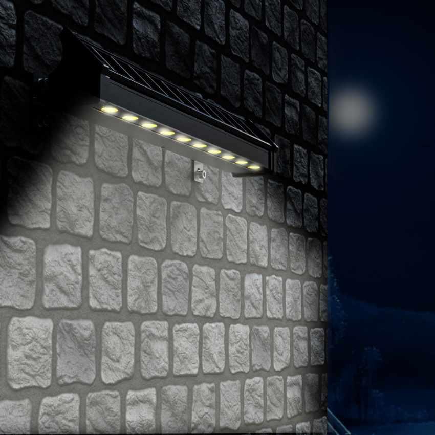 Lampe Solaire à Mur pour Illuminer Affiches Publicitaires et Murs BILLBOARD MAXI - prezzo