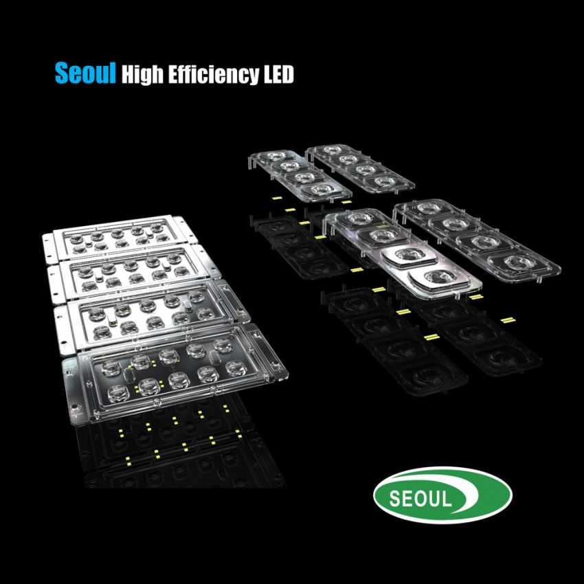 Lampadaire LED à Énergie Solaire avec Panneau Solaire et Capteurs pour la Route, Place, Stationnements ATLAS - migliore
