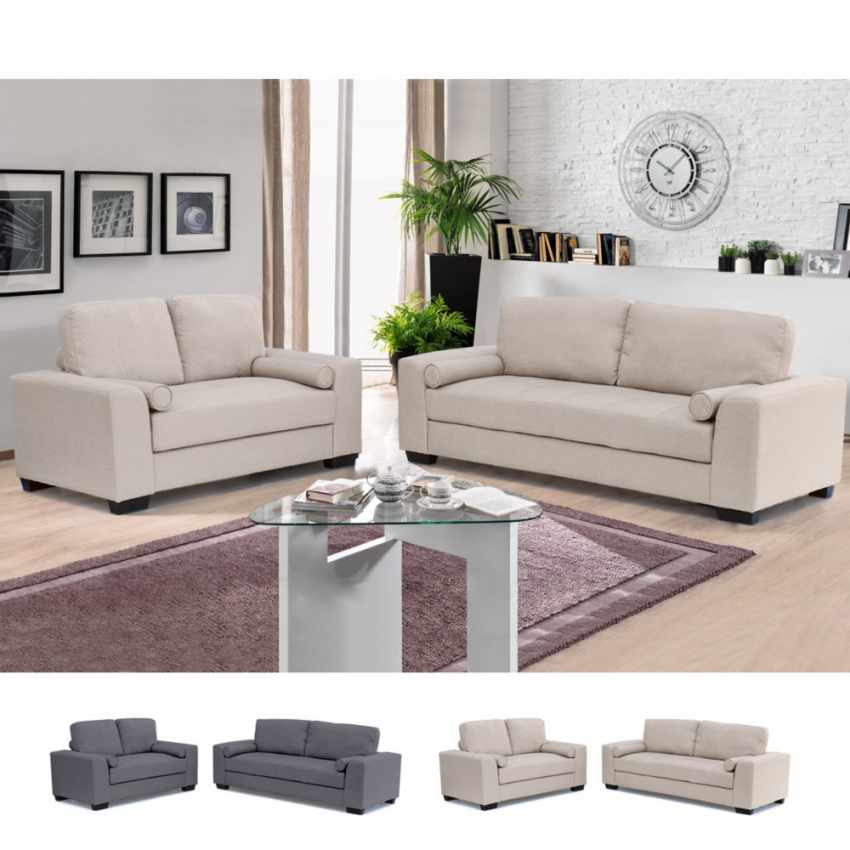 2 canaps dans un salon salon canapes salon canapes b c mobilier canape places large size salon. Black Bedroom Furniture Sets. Home Design Ideas