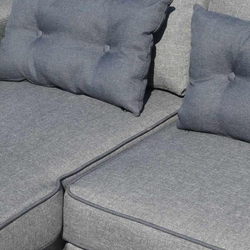 Canapé d'angle 3 places péninsule pour les salles de séjour SMERALDO - migliore