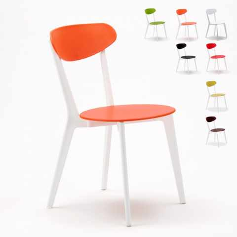 SC659PPM20PZ - Stock 20 Chaises design cuisine bar restaurant CUISINE paesana - economico