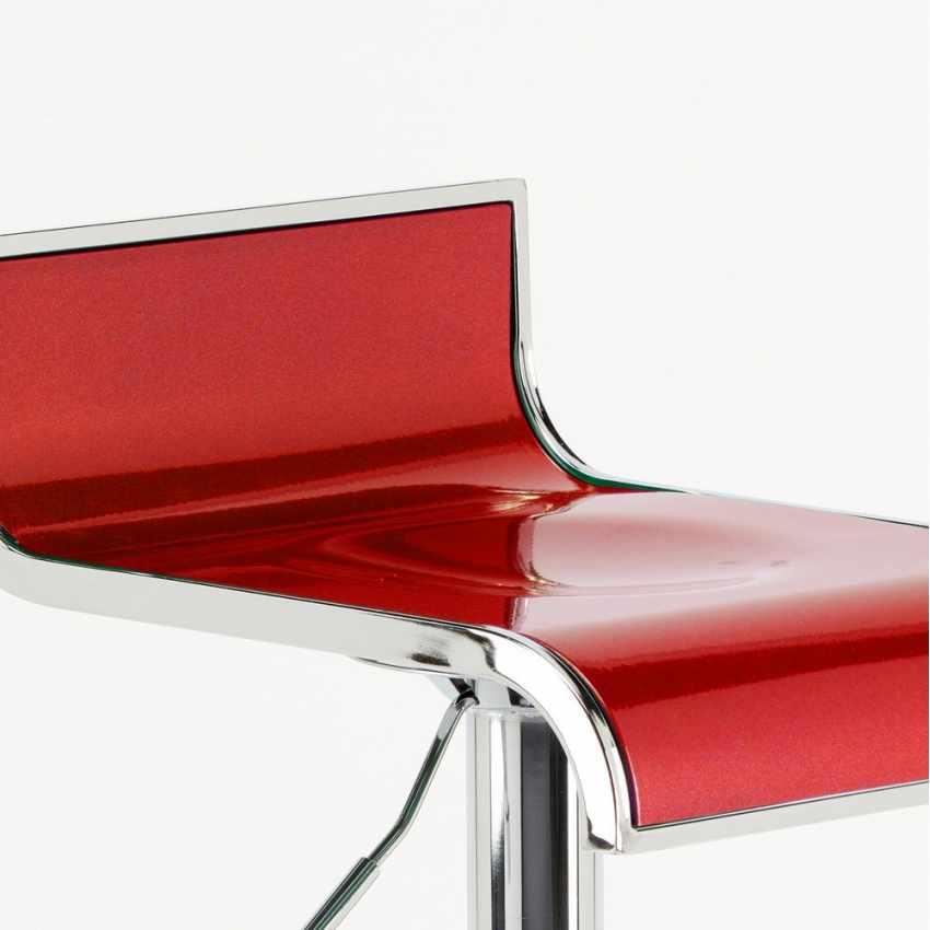 tabouret haut fixe tournant r glable pour bar cuisine avec repose pied florida. Black Bedroom Furniture Sets. Home Design Ideas