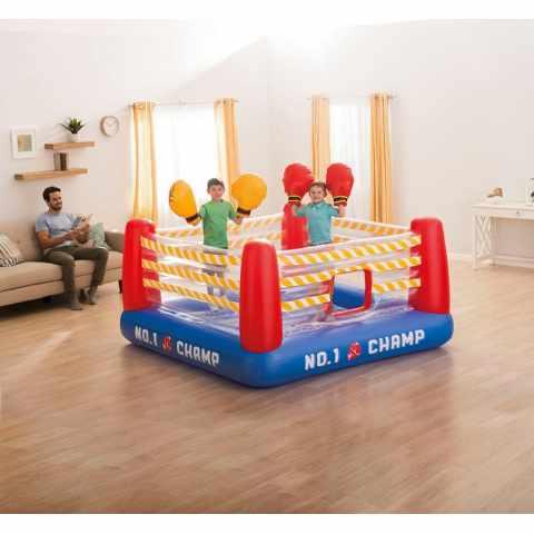 48250 - Ring gonflable Jump-O-Lene Intex 48250 pour Enfants avec Gants à Air - basso costo