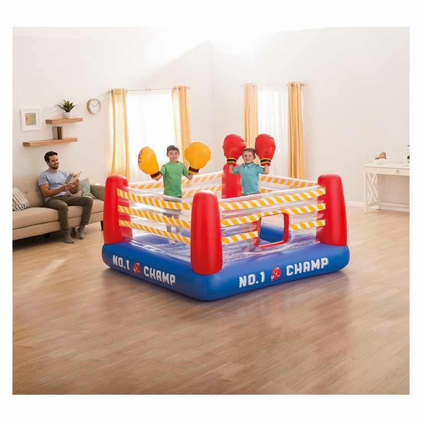 Saltador Jump o Lene Fun Ring inflable Intex 48250 con dos pares de guantes