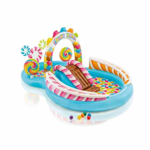 57149 - Piscine Gonflable pour Enfants Intex 57149 Candy Play Center - colorato