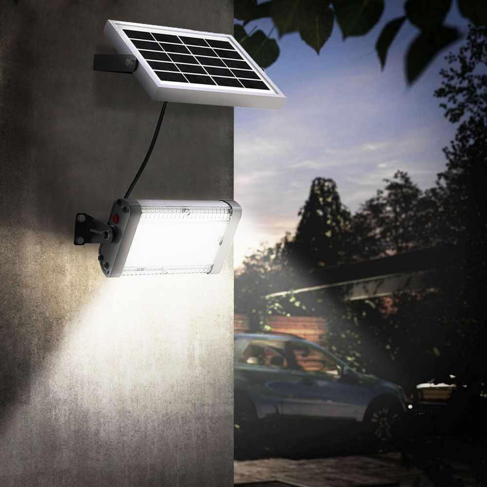 Lampe Energie Solaire Interieur lampe lumière solaire led 1000 lumens extérieur flood