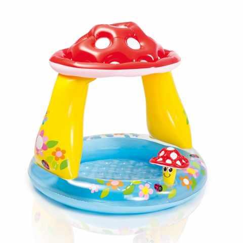 57114 - Piscine gonflable pour les enfants Intex 57114 Mushroom champignon jeu - outlet