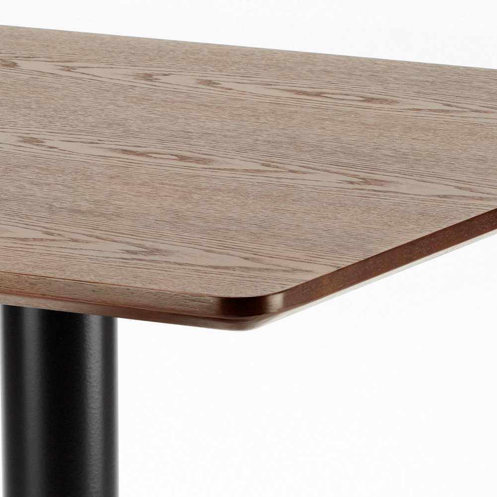 Table-60x60-carree-avec-pied-central-pour-bar-bistrots-HORECA miniature 31