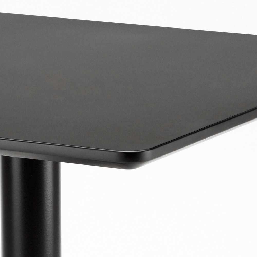 Table-60x60-carree-avec-pied-central-pour-bar-bistrots-HORECA miniature 27