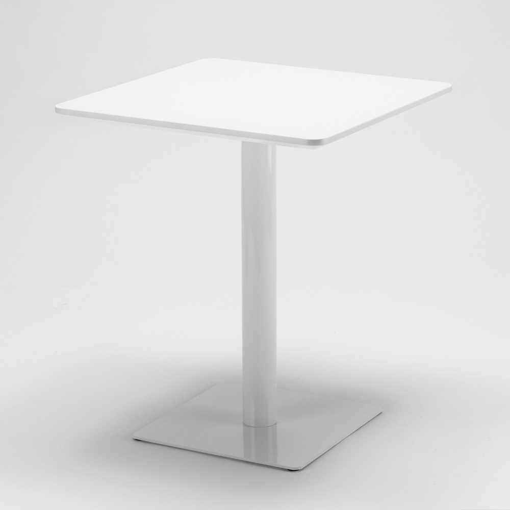 Table-60x60-carree-avec-pied-central-pour-bar-bistrots-HORECA miniature 22