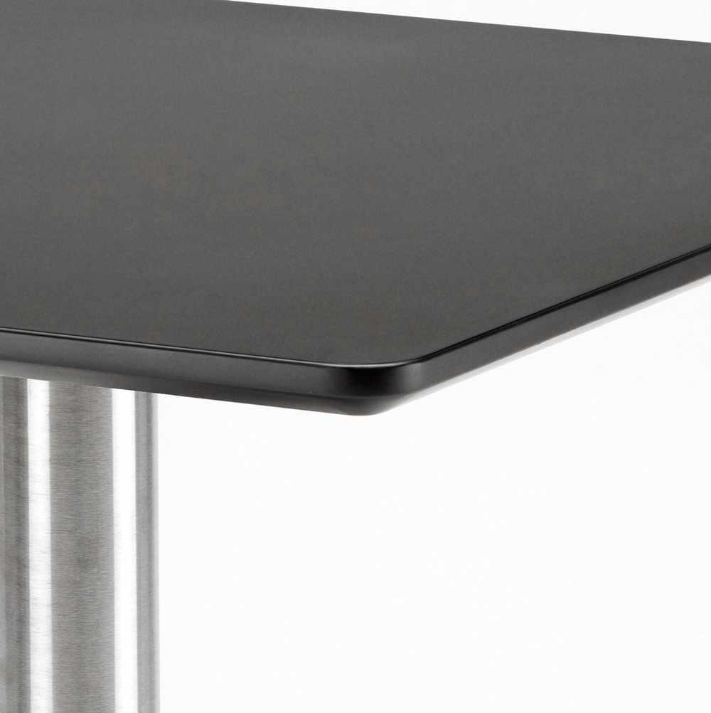 Table-60x60-carree-avec-pied-central-pour-bar-bistrots-HORECA miniature 19