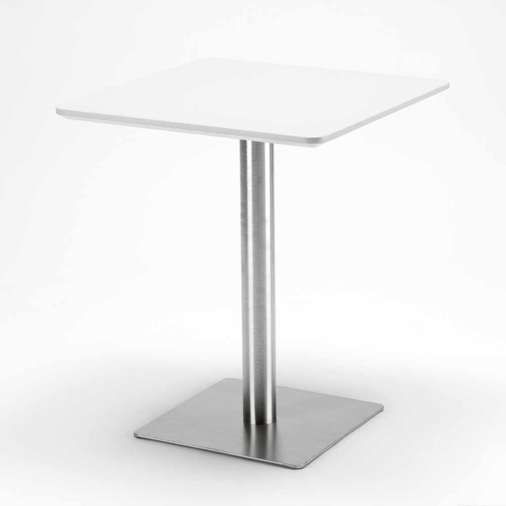 Table-60x60-carree-avec-pied-central-pour-bar-bistrots-HORECA miniature 14