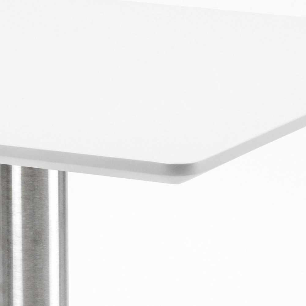 Table-60x60-carree-avec-pied-central-pour-bar-bistrots-HORECA miniature 15