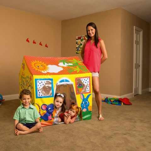 52007 - Bestway 52007 Maisonnette jeu enfants pour jardin et intérieur maison - retro