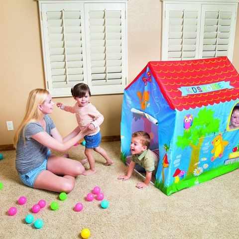 52201 - Maisonnette pour enfants Bestway 52201 assemblable pour jardin et maison - azzurro