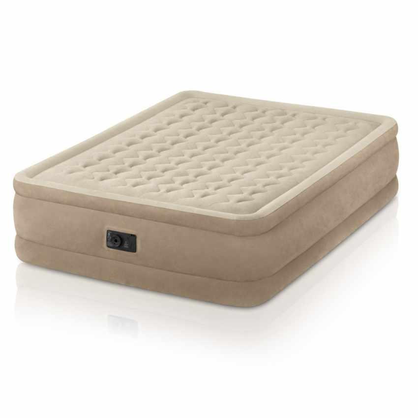 matelas gonflable lit double de camping intex 64458. Black Bedroom Furniture Sets. Home Design Ideas