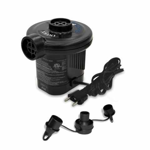 66620 - Pompe électrique pour gonfler les produits Intex 66620 I. 6 quickfill prise éléctrique - crema