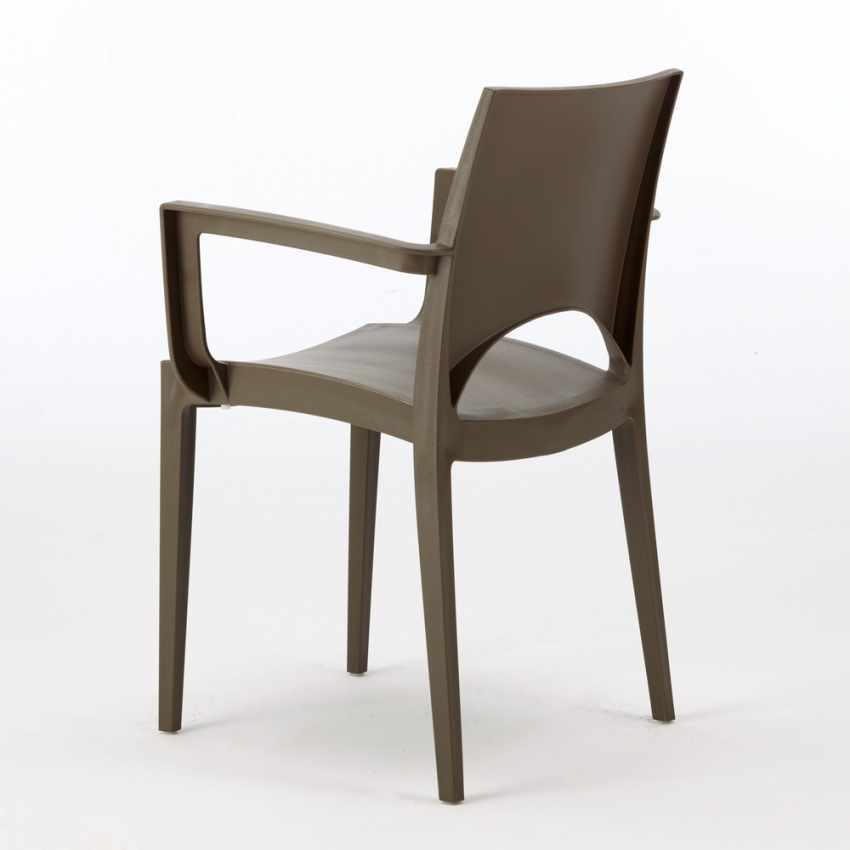 Chaise Grand Soleil : chaise en polypropyl ne avec accoudoirs pour bar restaurant paris arm grand soleil ~ Teatrodelosmanantiales.com Idées de Décoration