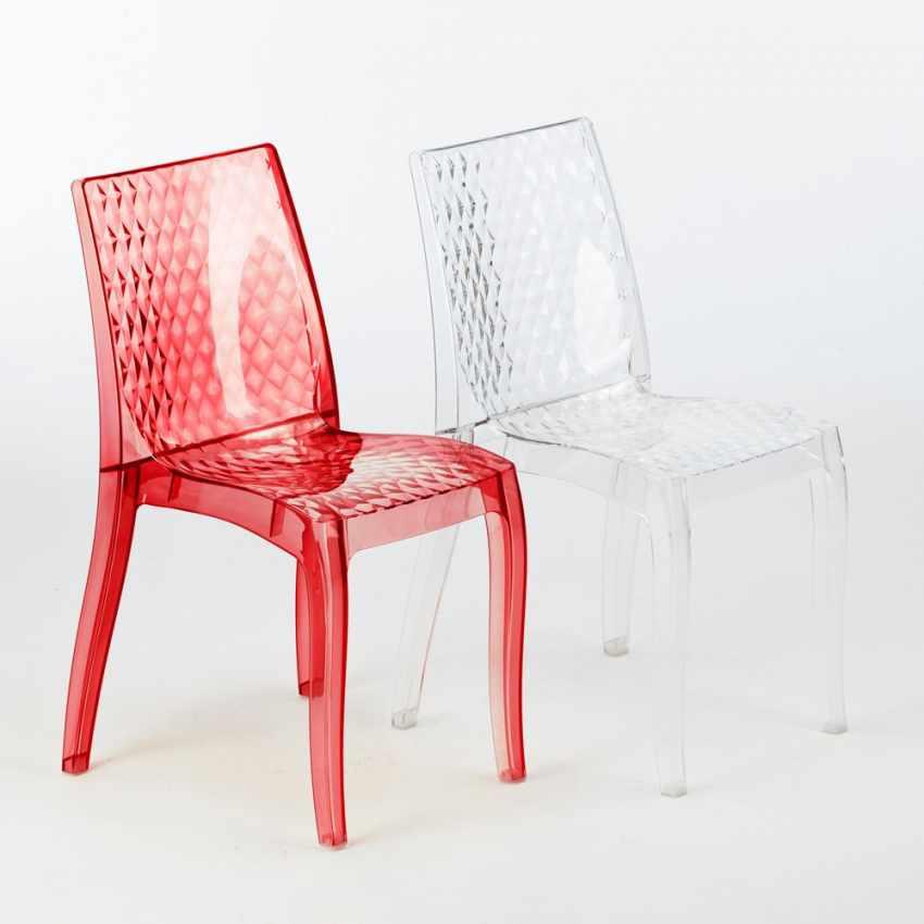 chaise transparent en polycarbonate cuisine bar empilable bar caf hypnotic grand soleil. Black Bedroom Furniture Sets. Home Design Ideas