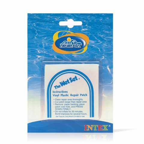 59631 - Intex 59631 6 PVC patchs pour la réparation des gonflables - beige