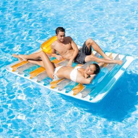 56897 - Intex 56897 Matelas flotant double deux places piscine - fronte