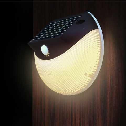 LM003LED - Applique solaire LED extérieure jardin MOON - outlet