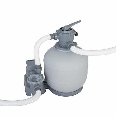 58366 - Pompe Filtrante à Sable Bestway 58366 pour Piscines Hors-Terre Intex - grigio