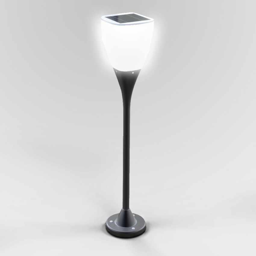 Réverbère lampe solaire jardin LED extérieure SUNWAY - prezzo