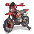 Minimoto da cross enduro elettrica per bambini MOTORBIKE CROSS 6V Feber - immagine