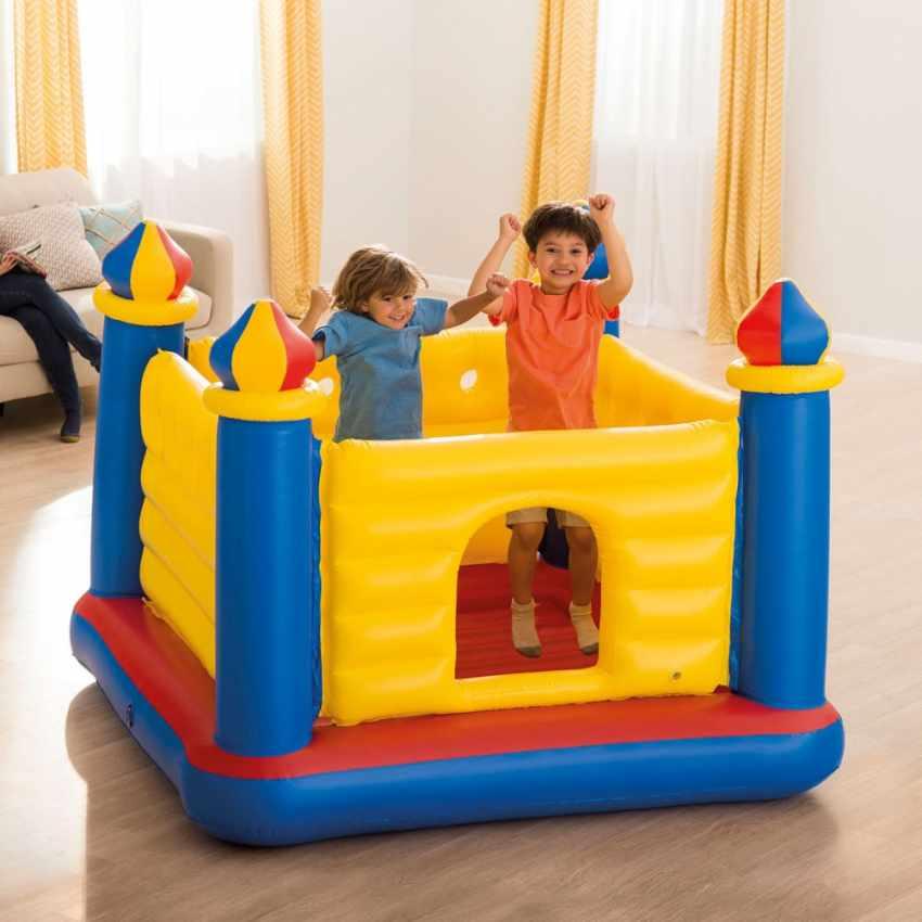 jump o lene chateau gonflable pour enfants intex 48259. Black Bedroom Furniture Sets. Home Design Ideas