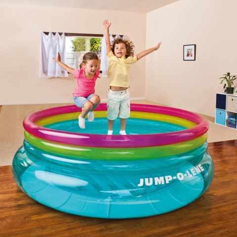 48267 - Aire de jeux trampoline pour enfants Intex 48267 Jump-O-Lene - basso prezzo