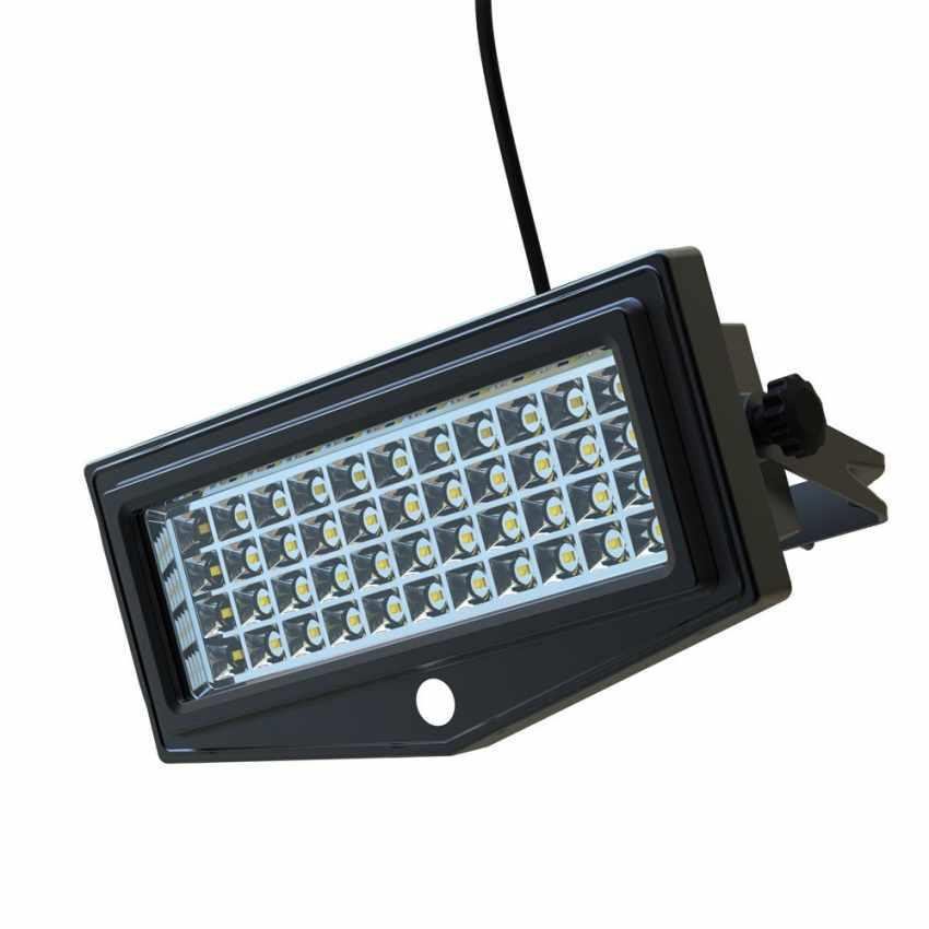 Lampe solaire jardin LED lumière mur extérieurs FLEXIBLE NEW - migliore