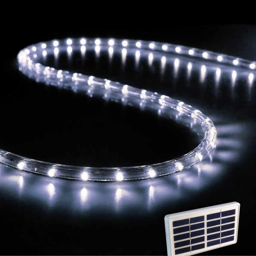 Tube Lumineux Lumières de Noël extérieur led energie solaire - foto