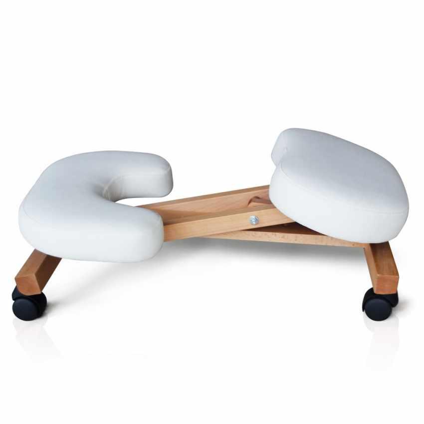 Chaise orthop dique de bureau en bois confortable si ge - Chaise de bureau ergonomique ...