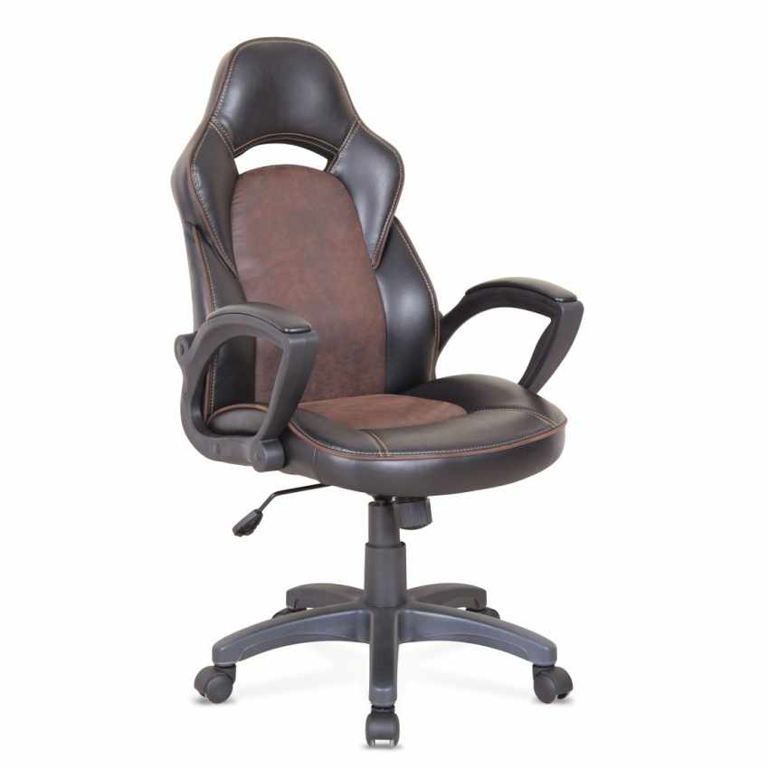 fateuil de bureau ergonomique en simili cuir sport chaise gamer pro. Black Bedroom Furniture Sets. Home Design Ideas