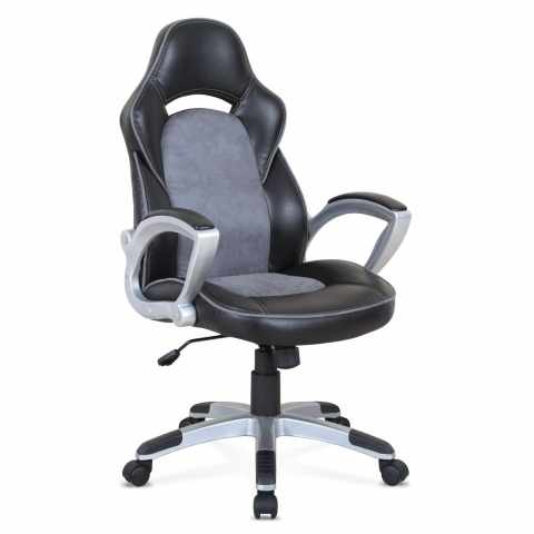 SU002RAC - Chaise de bureau sportive fauteuil gamer ergonomique simili cuir EVOLUTION - basso costo