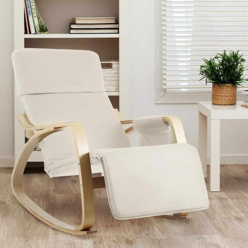 Chaise à Bascule réglable ergonomique en bois RELAX - prezzo