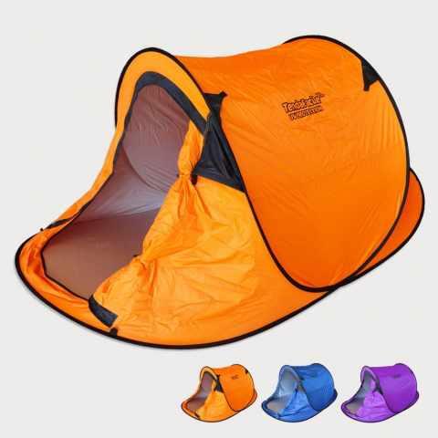 TF220UVA - Tente de plage 2 sièges abri solaire camping protection uv TENDAFACILE XL - scontato