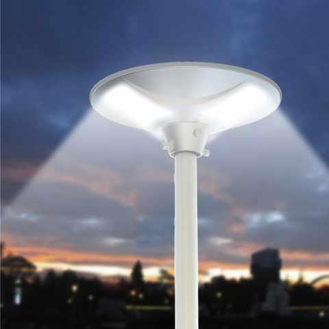 LS040LED - Lampadaire solaire réverbère LED rue jardin PLACE - basso costo
