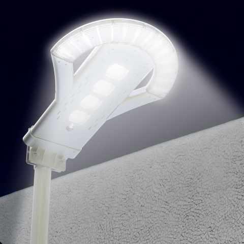 LS240LED - Lampadaire réverbère Led énergie solaire 2500 lumens Jardin - economico