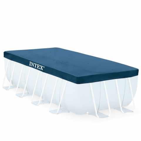 28037 - Bâche piscine Intex 28037 universelle hors-sol rectangulaire 400x200cm - arancione