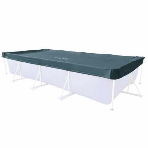 28039 - Bâche Couverture de piscine Intex 28039 Universal hors-sols rectangulaire 450x220 cm - grigio